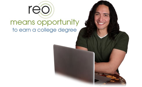 REO means opportunity to earn a college degree
